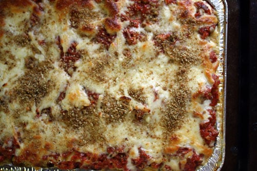 Classic Lasagna From The Freezer Plan To Eat