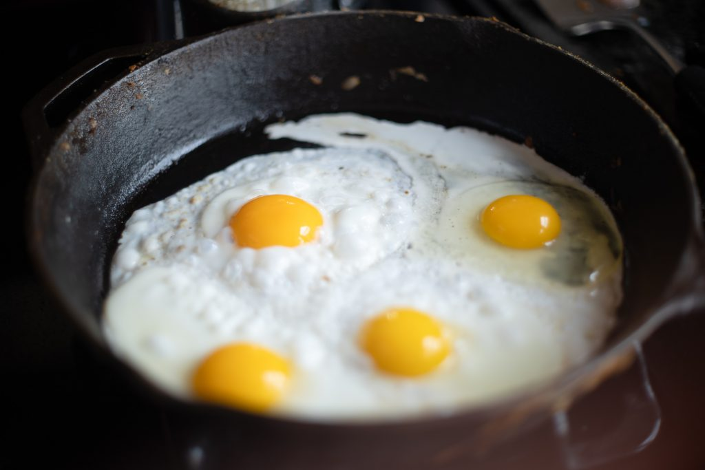The Best Way to Cook Eggs In a Cast-Iron Skillet | Plan to Eat