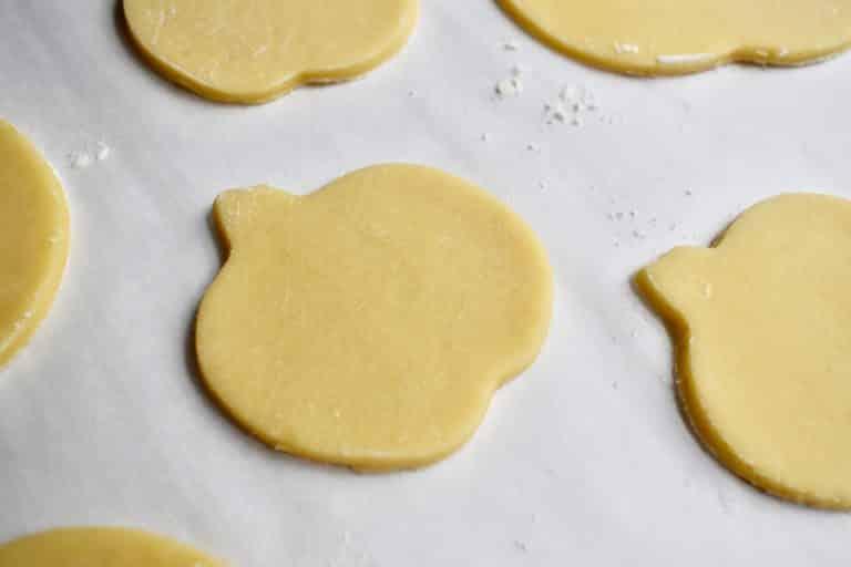 pumpkin cookie cutouts
