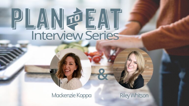 """branded image with the words """"Plan to Eat Interview Series"""""""